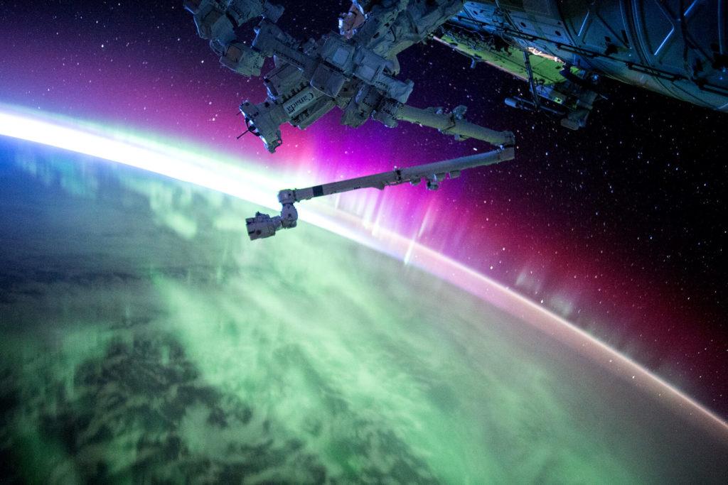 Epic Aurora Borealis Images from NASA
