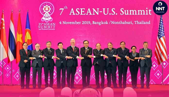 อาเซียน-สหรัฐฯ ร่วมสนับสนุนสันติภาพ ความมั่นคง เสถียรภาพ และความเจริญรุ่งเรืองในภูมิภาค